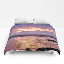 Misty Sunset Comforters