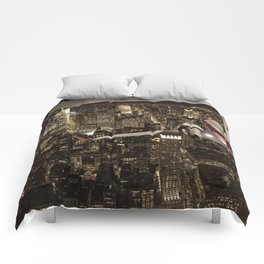 Fly me to New York Comforters