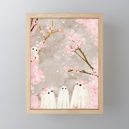 Cherry Blossom Party Framed Mini Art Print
