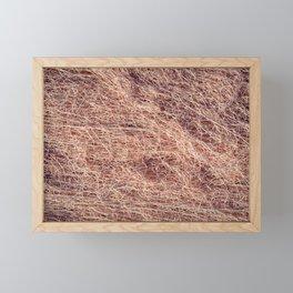 Nylon fishnet Framed Mini Art Print
