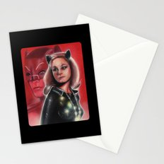 Julie Newmar Catwoman Stationery Cards