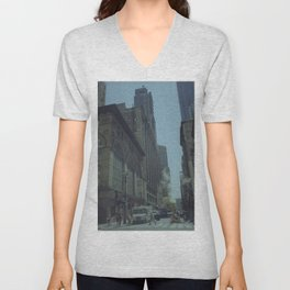 New York Unisex V-Neck