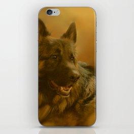 Golden King Shepherd iPhone Skin