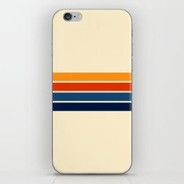 Classic Retro Stripes iPhone Skin