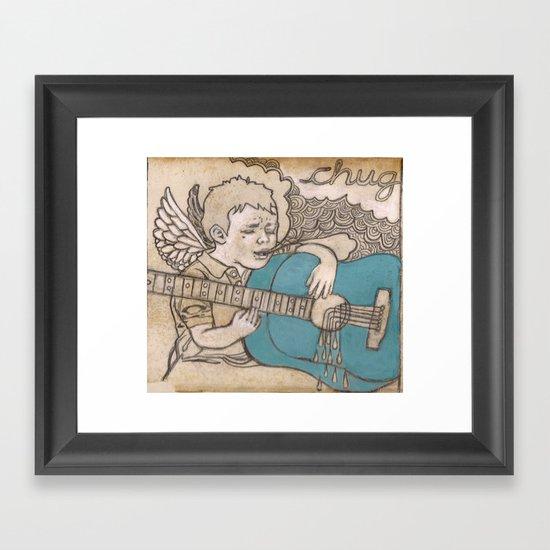 chug Framed Art Print
