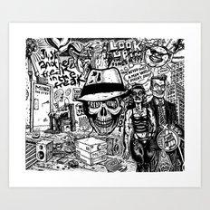 Freak Power Art Print