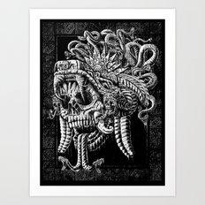 Serpent Warrior Art Print