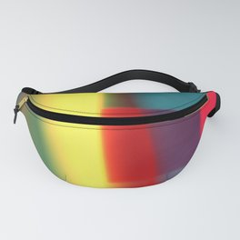 Colored blured pattern Fanny Pack