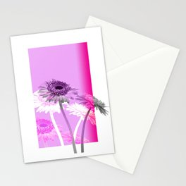 flowers are flowers and pink is the warmest color Stationery Cards