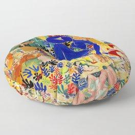 Matisse el Henri Floor Pillow