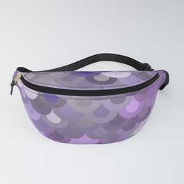 Purple Scales Fanny Pack