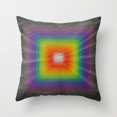 Beneath the Black Sands Throw Pillow