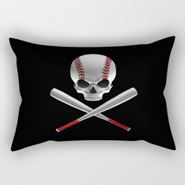 Phantom Ballplayer Rectangular Pillow