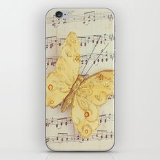 Dance of the Butterfly iPhone & iPod Skin
