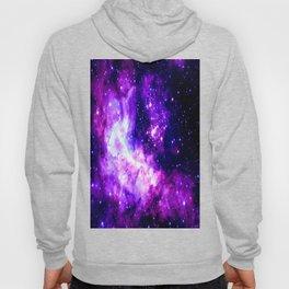 Purple Galaxy : Celestial Fireworks Hoody