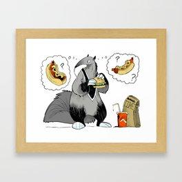 BurgerTime Framed Art Print