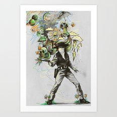 Quickdraw Art Print