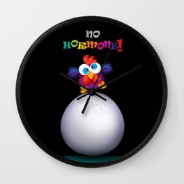 no hormone! Wall Clock