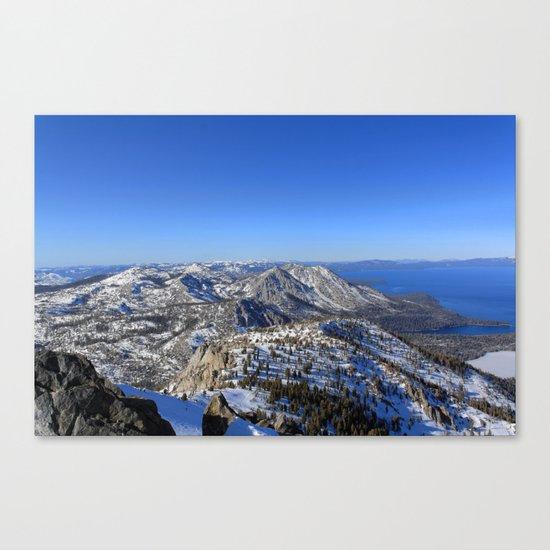 Maggies Peak Canvas Print
