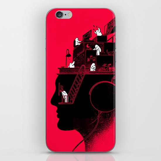 Everyday is a New Soundtrack iPhone & iPod Skin