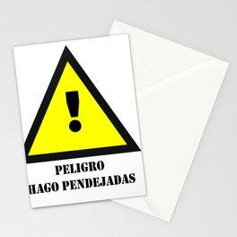 Peligro! Hago Pendejadas Stationery Cards