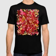 Red hot day Species Mens Fitted Tee Black MEDIUM