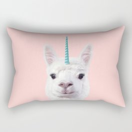 ALPACA UNICORN Rectangular Pillow