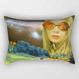 Distant Meeting Rectangular Pillow