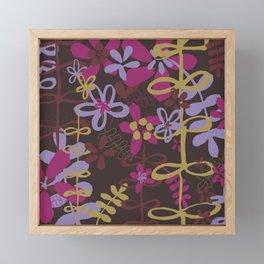 BLOOM DARK Framed Mini Art Print