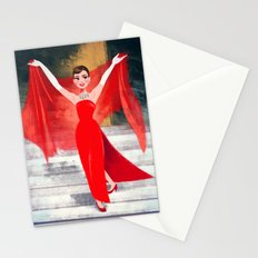 Funny Face - Audrey Hepburn Stationery Cards