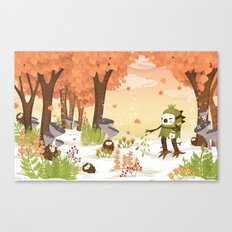 Cloudseeders Autumn Harvest Canvas Print