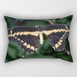 Butterfly wings open Rectangular Pillow