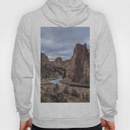 Twilight at Smith Rock State Park Hoody