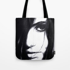 Look me in the eye. Tote Bag