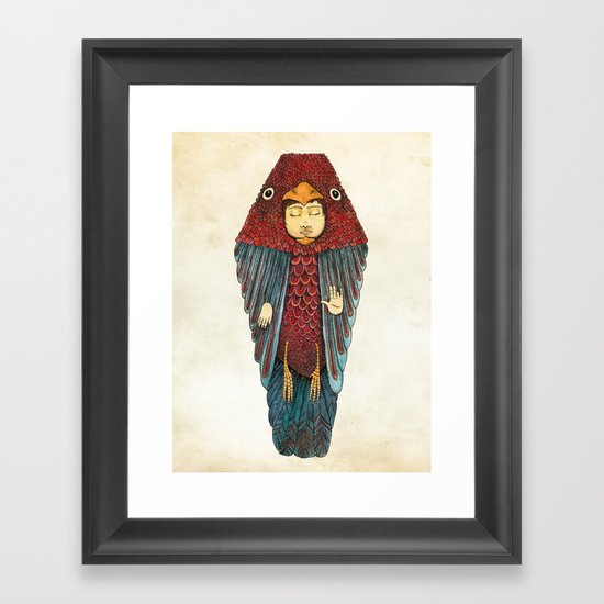 Fly like an egyptian Framed Art Print