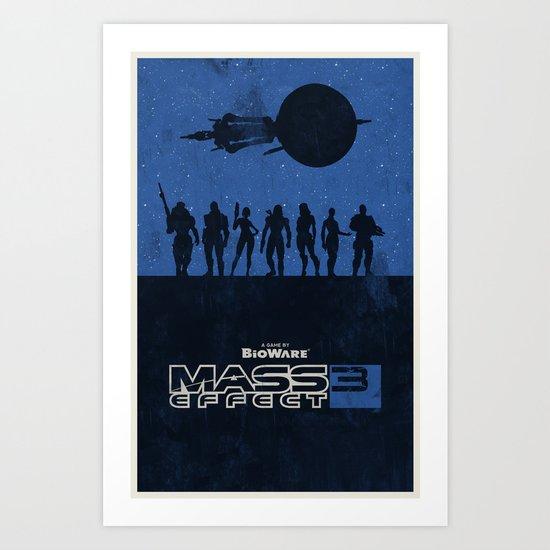 Mass Effect 3 Art Print
