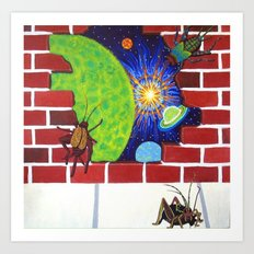 Crickets in the Walls Art Print