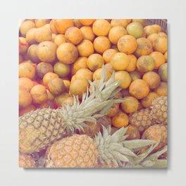 Tutty Fruity Metal Print