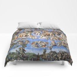 Michelangelo Last Judgement Comforters