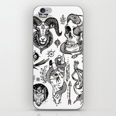 Lesser Alchemy iPhone & iPod Skin