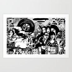 Sound & Vision: 2013 in Music by Steven Fiche Art Print