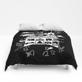 ▴ haunted house ▴ Comforters