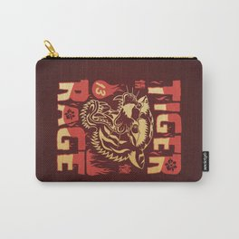 Tiger Rage - Color Carry-All Pouch