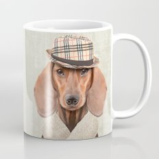 The stylish Mr Dachshund Mug