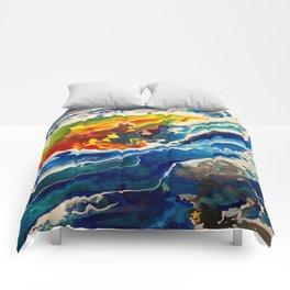 Deep Sea Rainbow Comforters