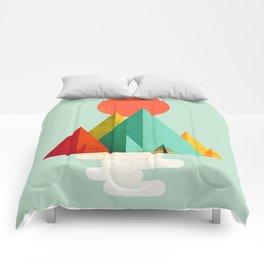 Little Geometric Tipi Comforters