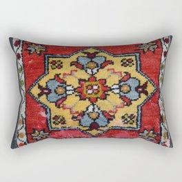 Antique Carpet Sadle Bag Rectangular Pillow