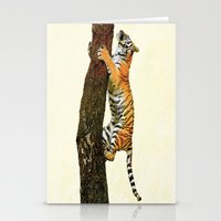 climbing Stationery Cards featuring Tree Climbing by Peaky40