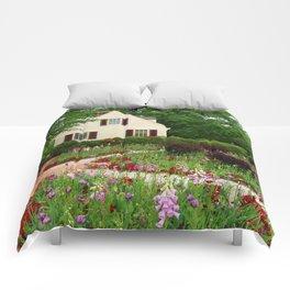 Cottage Garden - Colonial Williamsburg Comforters