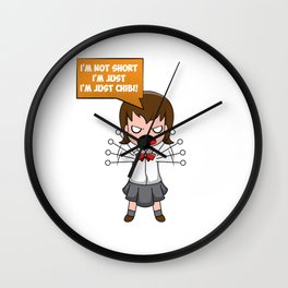 not short just chibi small Little Daddy's Girl Wall Clock